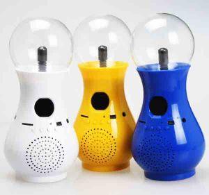 Аудио колонка плазма-лампа
