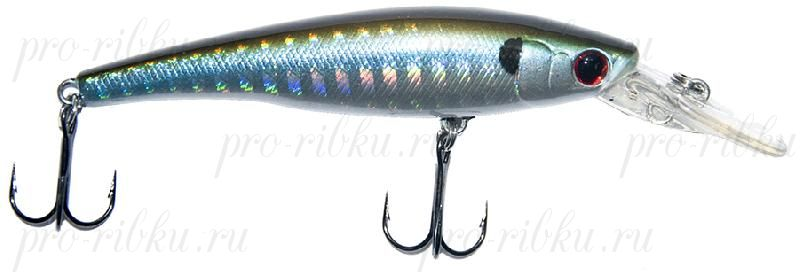 Воблер RUBICON MAX-PRO MINNOW F, 70mm, 6.7gr, depth 0-1.5m, F550
