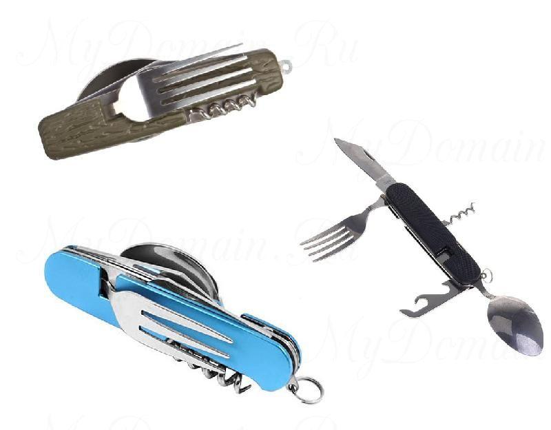 Набор тур. (нож+ложка+вилка) Expoler арт. 706