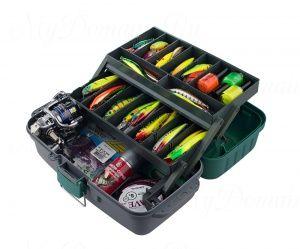 Ящик рыболовный ТРИ КИТА ЯР-2 2 лотка