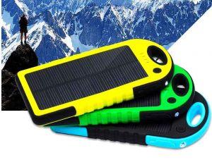 Водонепроницаемое ударопрочное солнечное зарядное устройство (5000 mah)