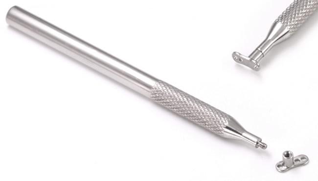 Инструмент для установки микродермалов