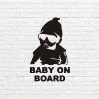 Baby on board в векторе