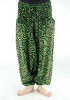 Зеленые женские штаны алладины, купить в Санкт Петербурге