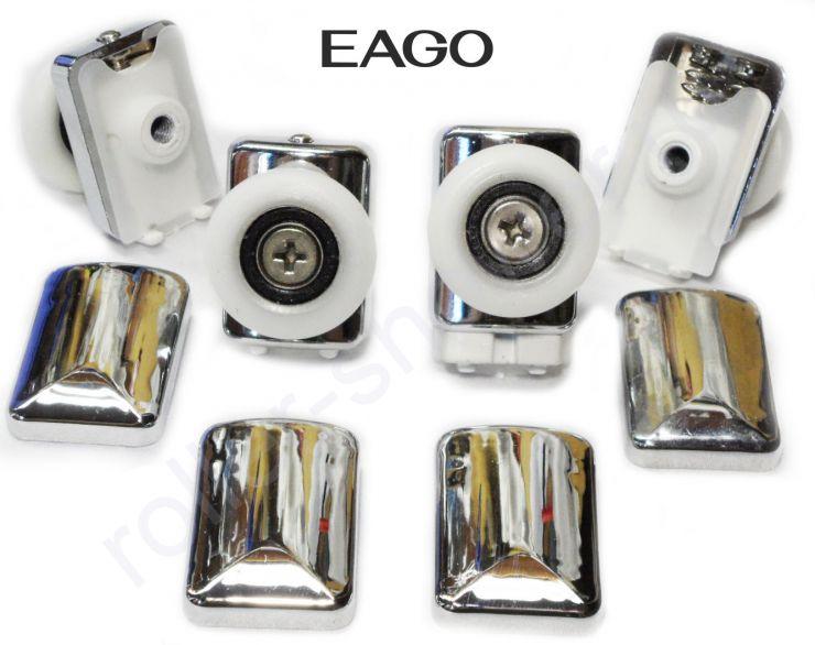 Ролики для душевых кабин EAGO  Dorff (Комплект 4шт) Диаметр колеса 26мм.
