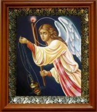 Селафиил Архангел (19х22), светлый киот