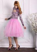 розовая юбка Шопенка