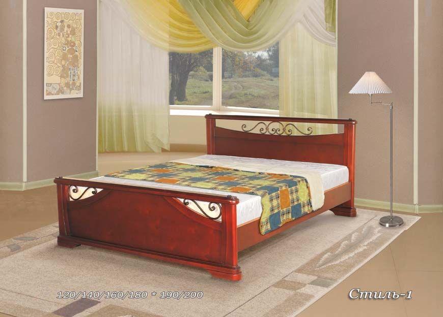 Кровать Стиль-1 (ковка) | Альянс XXI век