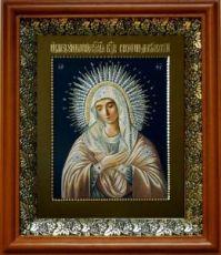 Умиление Серафимо-Дивеевская (19х22), светлый киот
