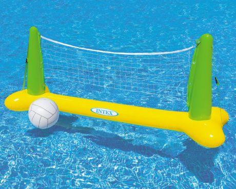 Надувная волейбольная сетка с мячом Intex 56508