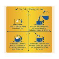 Лимонный чай Тадж Махал в пакетиках | Brooke Bond Taj Mahal Fresh Lemon Tea Bags