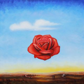 Медитативная роза (Репродукция Сальвадора Дали)