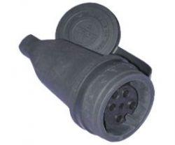 Розетка T-plast удлиненная каучуковая 3ф 32А 380В