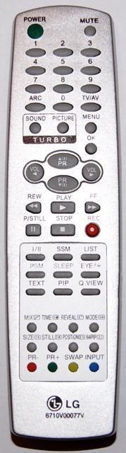 LG 6710V00077V , 6710V00112D (CS-25Q20RQ, RT-29FA50)