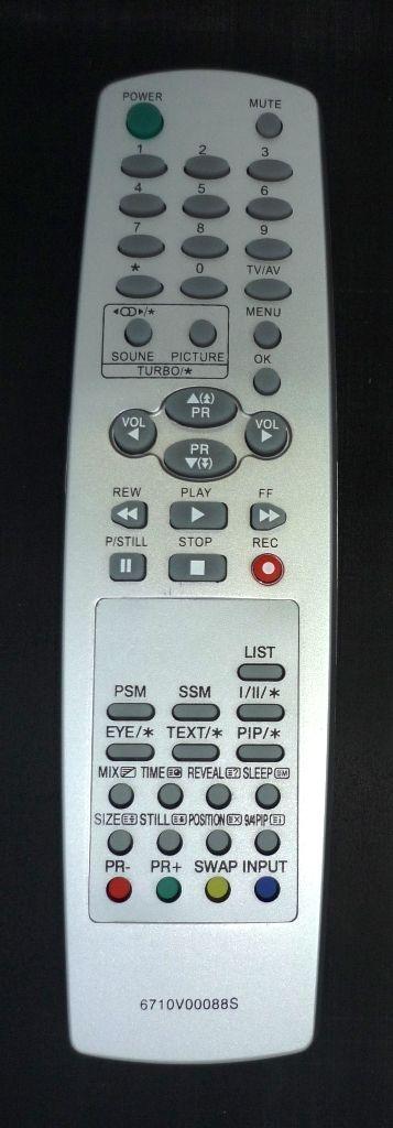 LG 6710V00088S (TV,VCR)