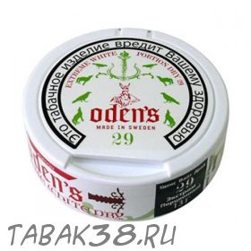 Табак жевательный Chew Bags Odens 29 Extreme White Dry Portion