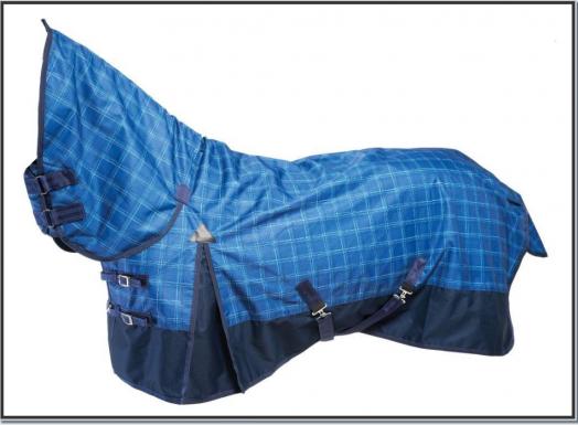 """Дождевая попона с полной шеей """"RAIN BUSTER"""". Верх - ткань Ripstop 600, нейлоновая подкладка"""