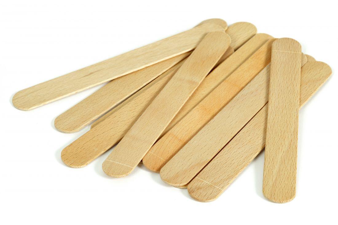 Шпатель деревянный для депиляции уп/10шт