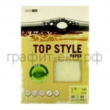 Бумага А4 Smart Line Top Style laid ivory слоновая кость 220г/м 20л 3242/808