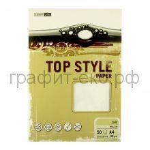 Бумага А4 Smart Line Top Style laid white белая 90г/м 50л 3236/813