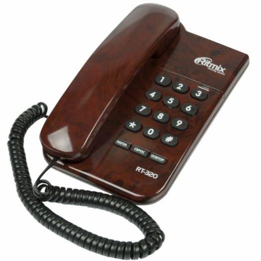 Телефон RITMIX RT-320 Coffee Marble (мраморный кофе)
