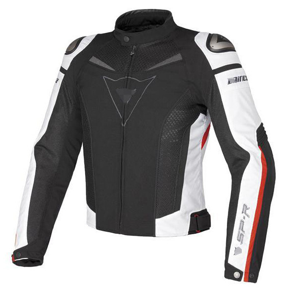 Куртка мотоциклетная (текстиль) Dainese SP-R TEX White-Red