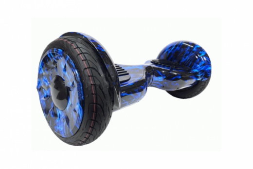 Гироскутер Smart Balance 10 NEW Самобаланс APP Синий огонь