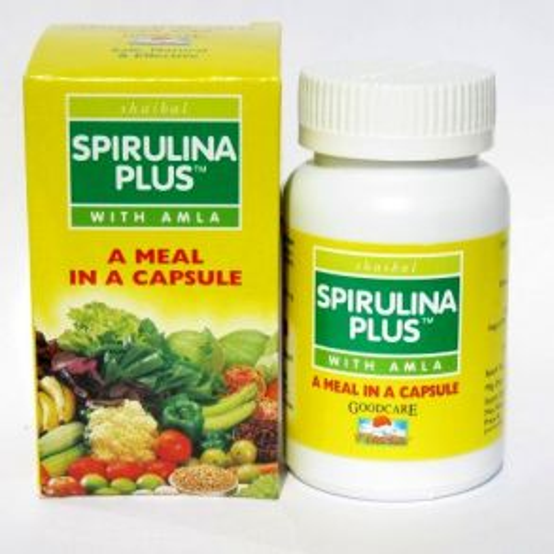 Спирулина Плюс | Spirulina Plus | 60 капс. | Goodcare