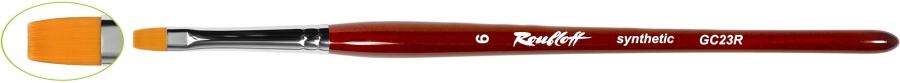 GC23R - плоская из синтетического волоса №8