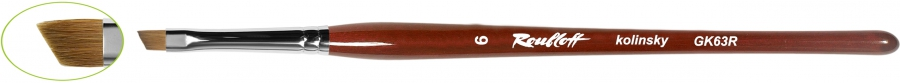 GK63R - наклонная из волоса колонка №4