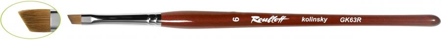 GK63R - наклонная из волоса колонка №6