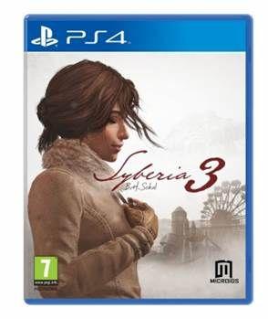 Игра Сибирь 3 (PS4 русская версия)