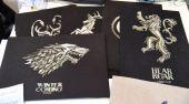 Схема для вышивки крестом Winter Is Coming. Отшив.