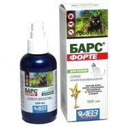 Барс Форте Спрей инсектоакарицидный для кошек (100 мл)
