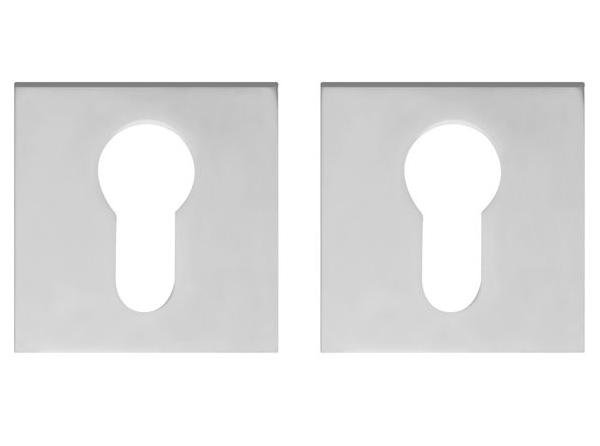 Накладка под цилиндр ET DM CP-8 хром