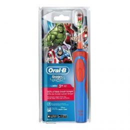 Электрическая зубная щетка Oral-B Stages Power Мстители D12.513K