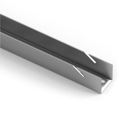 Навесная направляющая Aristo, L=2300мм, цвет серый металлик