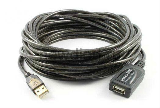Кабель USB/USB 20 метров с усилителем