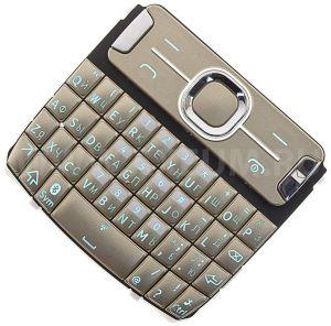 Клавиатура Nokia 302 Asha (gold) Оригинал