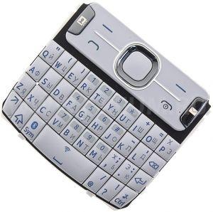 Клавиатура Nokia 302 Asha (white) Оригинал