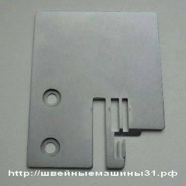 Игольная пластина для оверлока HOFFMAN и аналогичных      /       Цена 1400 руб.