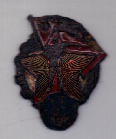 знак 1932-1941 гг. Ворошиловский стрелок