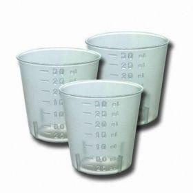 Стакан мерный для биопрепаратов / пластик / с градуировкой / 30 мл