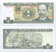 Куба 1 песо 2009 год Пресс
