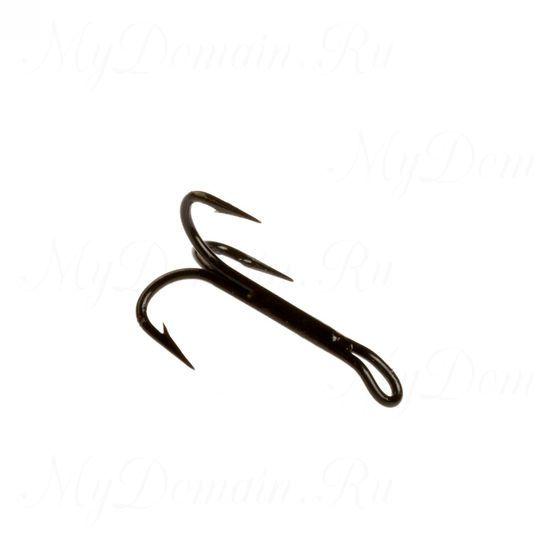 Тройник Cannelle 3018 W № 10 уп. 100 шт. (черный, для нахлыста, длинное цевье)