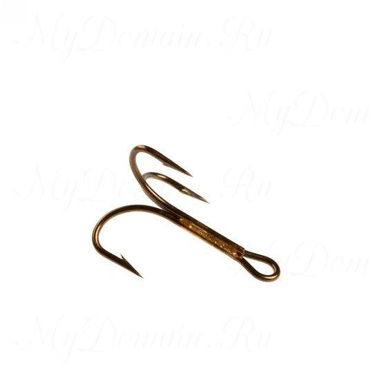 Тройник Cannelle (3212 Z) № 1 уп. 10 шт. (бронза,круглый поддев,тонкая проволка,неспаянное одно цевье)