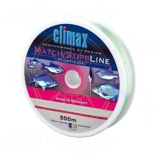 Леска Сlimax Match-Stip Line Mono (светло-зеленая) 100м 0,10мм 1,0кг