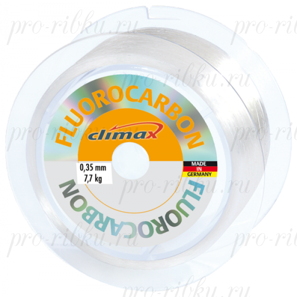 Леска Climax Fluorocarbon 0,35 мм 100 м 7.7 кг