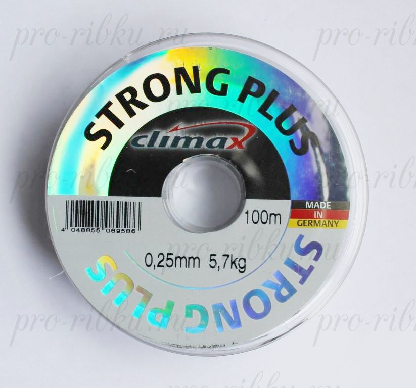 Леска Climax Strong Plus (прозрачная) 100 м 0,45 мм 17,0 кг уп. 10 шт.