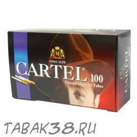 Гильзы сигаретные CARTEL 100 шт